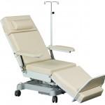 Fotele do pobierania krwi, dializ i chemioterapii