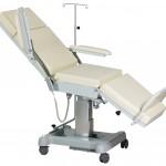 Fotel do pobierania krwi i dializ 2077-4