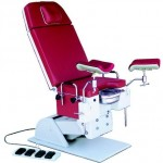 Electrically adjustable gynecologic chair model 2080