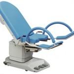 Fotel ginekologiczny elektryczny z dużymi kołami 2087-3