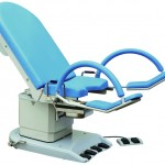 Electrically adjustable gynecologic chair model 2087