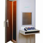 Audiometric test booths