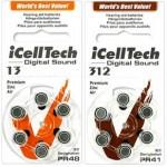 Baterie do aparatów słuchowych Icell-Tech
