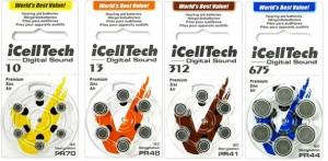 Baterie cynkowo-powietrzne iCell Tech