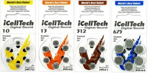 Zinc-air iCella Tech batteries