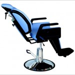 Hydraulic laryngological electrically adjustable chair