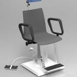 Fotele laryngologiczne Coburg 4046 EH-U