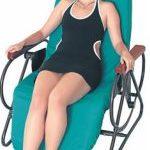 krzesło z czujnikami akustycznymi biofeedback